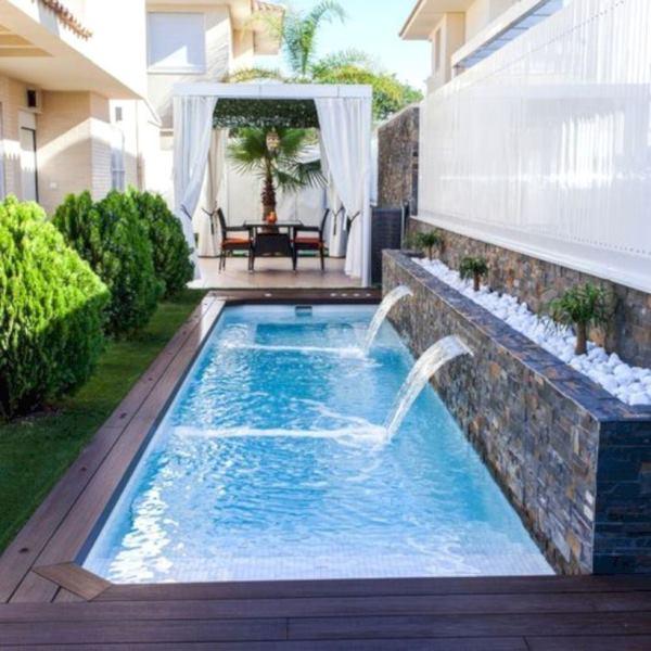 desain kolam renang minimalis