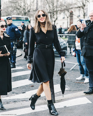 outfits black midi skirt