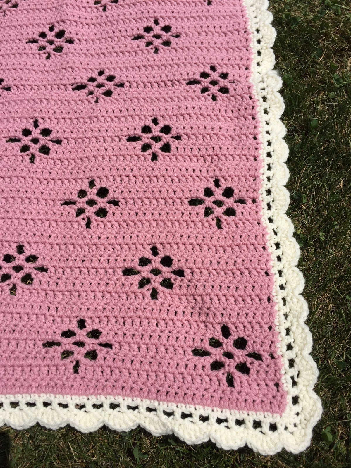 Skein And Hook Free Crochet Pattern Molalla Baby Blanket