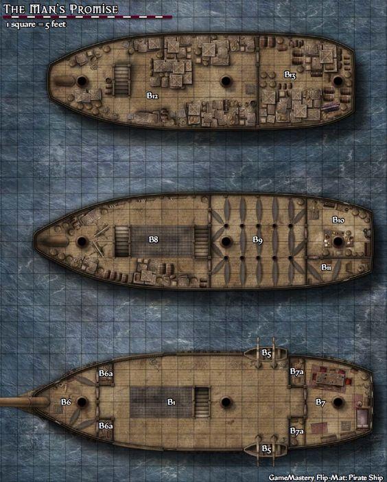 Um navio pirata