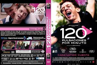 CARATULA 120 pulsaciones por minuto - 120 battements par minute - 2017 - [COVER - DVD]