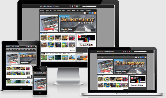 Mainin Game Online Responsive Blogger Templates