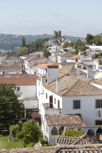 Vista sul Castello di Obidos