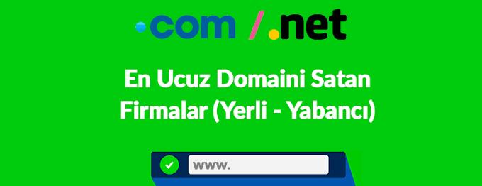 En Ucuz Domain / Domain / Ucuz Alan Adı 2019