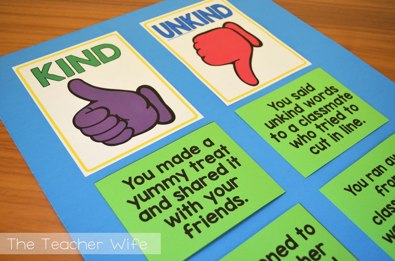 The Teacher Wife The Classroom Kindness Project