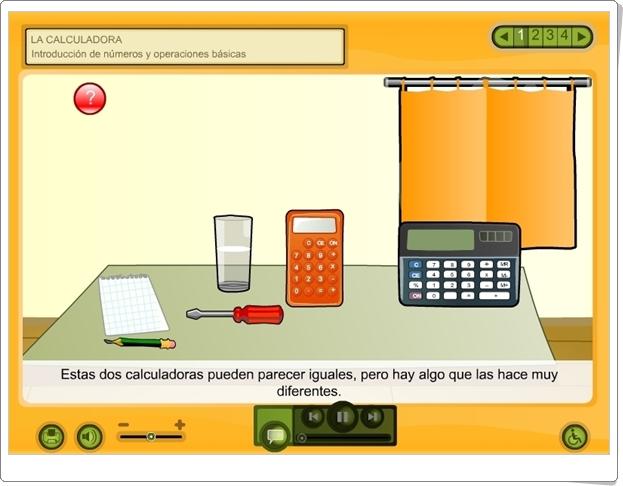 """""""La Calculadora"""" (Aplicación interactiva de Matemáticas de Primaria)"""