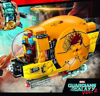 Toy Fair 2017 LEGO Guardians of the Galaxy Vol.2 76080 Ayesha's Revenge
