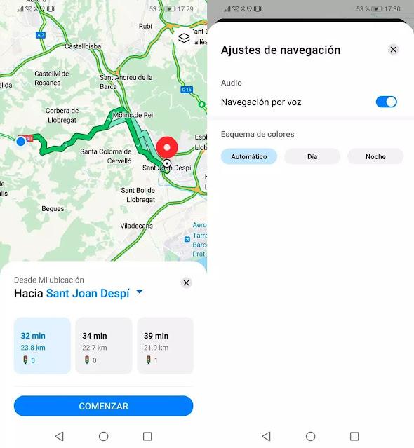 تحميل خرائط Petal من هواوي