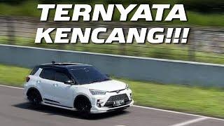 Top Speed Toyota Raize di Sirkuit Sentul