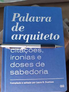 Palavra de Arquiteto - indicação de livro