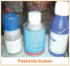 Pestisida buatan - Bahan Produksi Budi Daya Tanaman Sayuran