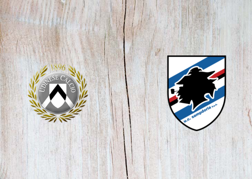 Udinese vs Sampdoria -Highlights 12 July 2020
