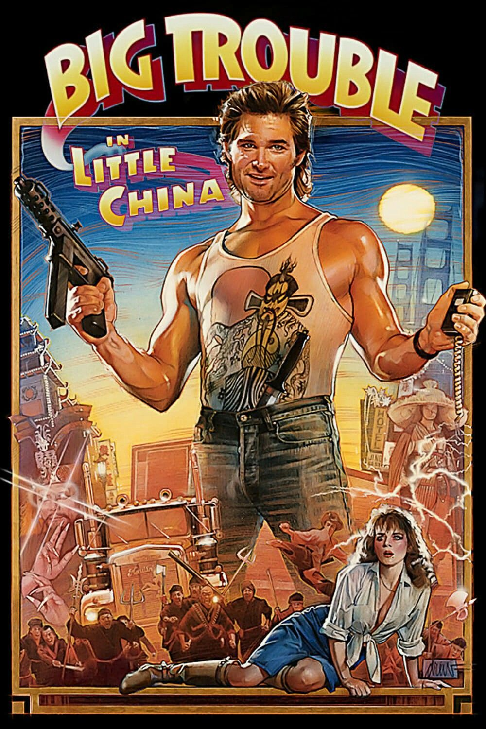 Big Trouble in Little China [1986] [DVDR] [NTSC] [Latino]