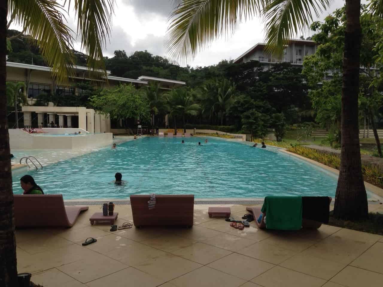 Swimming pool at Pico de Loro Beach & Country Club