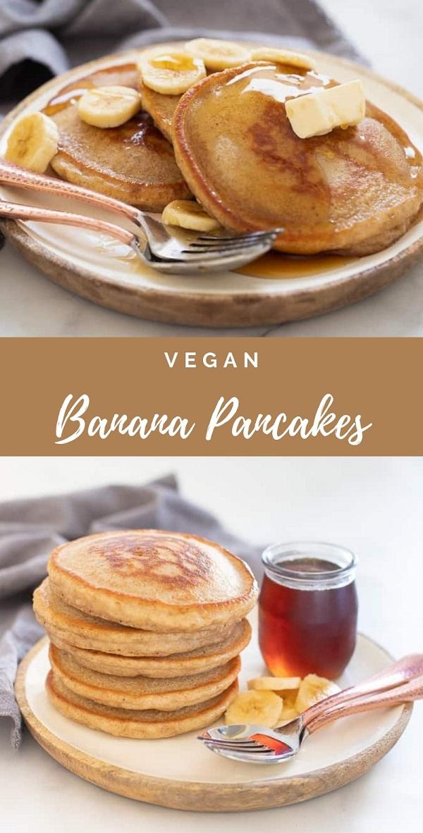 Best Vegan Banana Pancakes