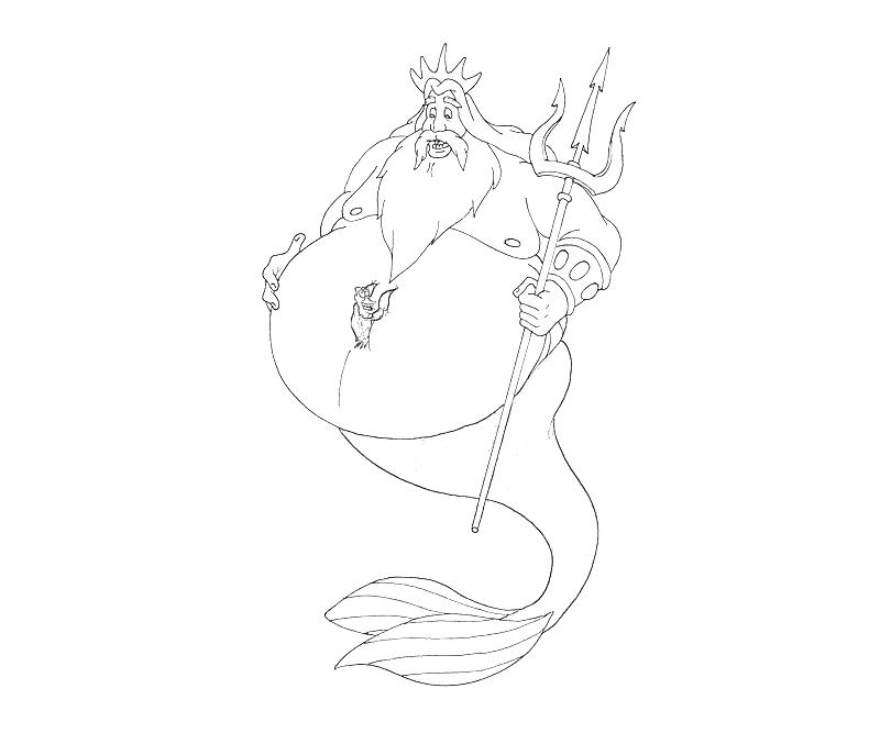 The Little Mermaid Coloring Pages 2 Disney Book Ariel The Little ... | 667x800