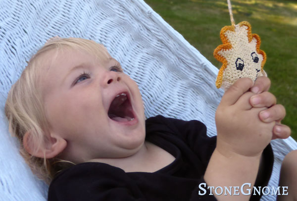 Smiley Sun Stroller Toy