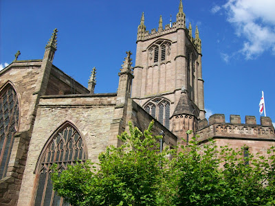 Church of St Laurence, Ludlow (Photo Tony Grist)