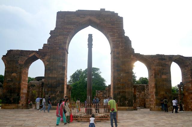 Iron Pillar, Qutub Complex. Delhi