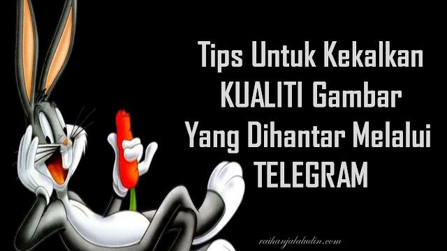 Tips Untuk Kekalkan Kualiti Gambar Yang Dihantar Melalui Telegram