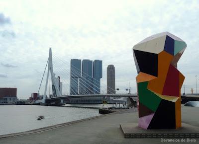 Dicas de roteiro por Rotterdam: Erasmusbrug