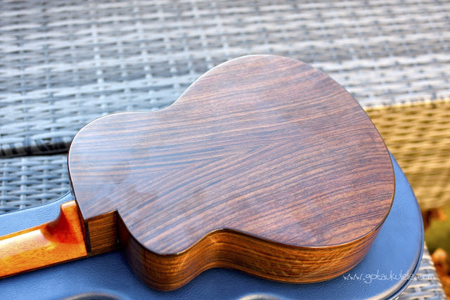 aNueNue UT200 Moon Bird Ukulele back