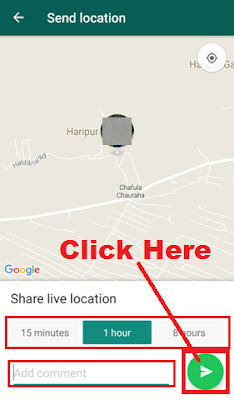 how to track friends location on whatsapp