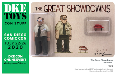 San Diego Comic-Con 2020 Exclusive The Great Showdowns Office Space Resin Figure Set by Scott C. x DKE Toys