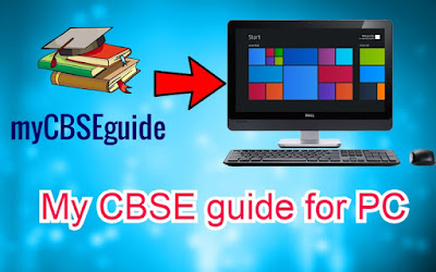My CBSE guide for PC