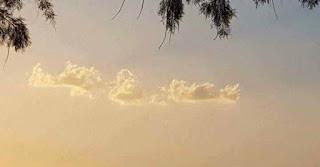 Σύννεφο σε παραλία της Αττικής μοιάζει με την Κρήτη