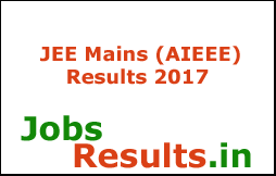 JEE Mains (AIEEE) Results 2017