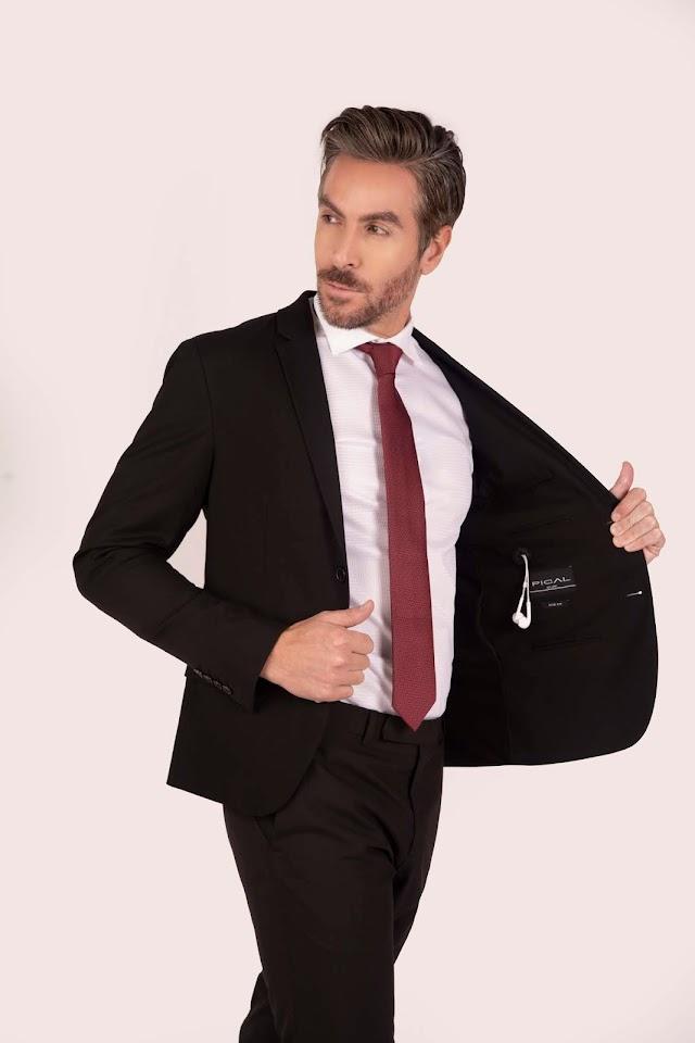 Tendencia de moda masculina para viajar