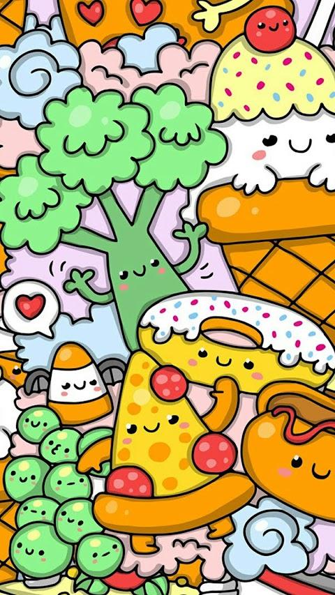 Hình Ảnh Màn Hình Khóa Bánh Kẹo Đáng Yêu
