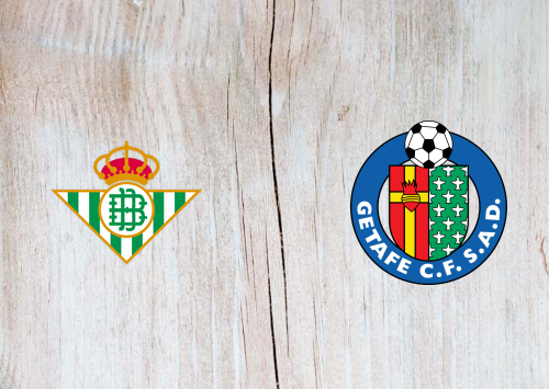 Real Betis vs Getafe -Highlights 19 February 2021