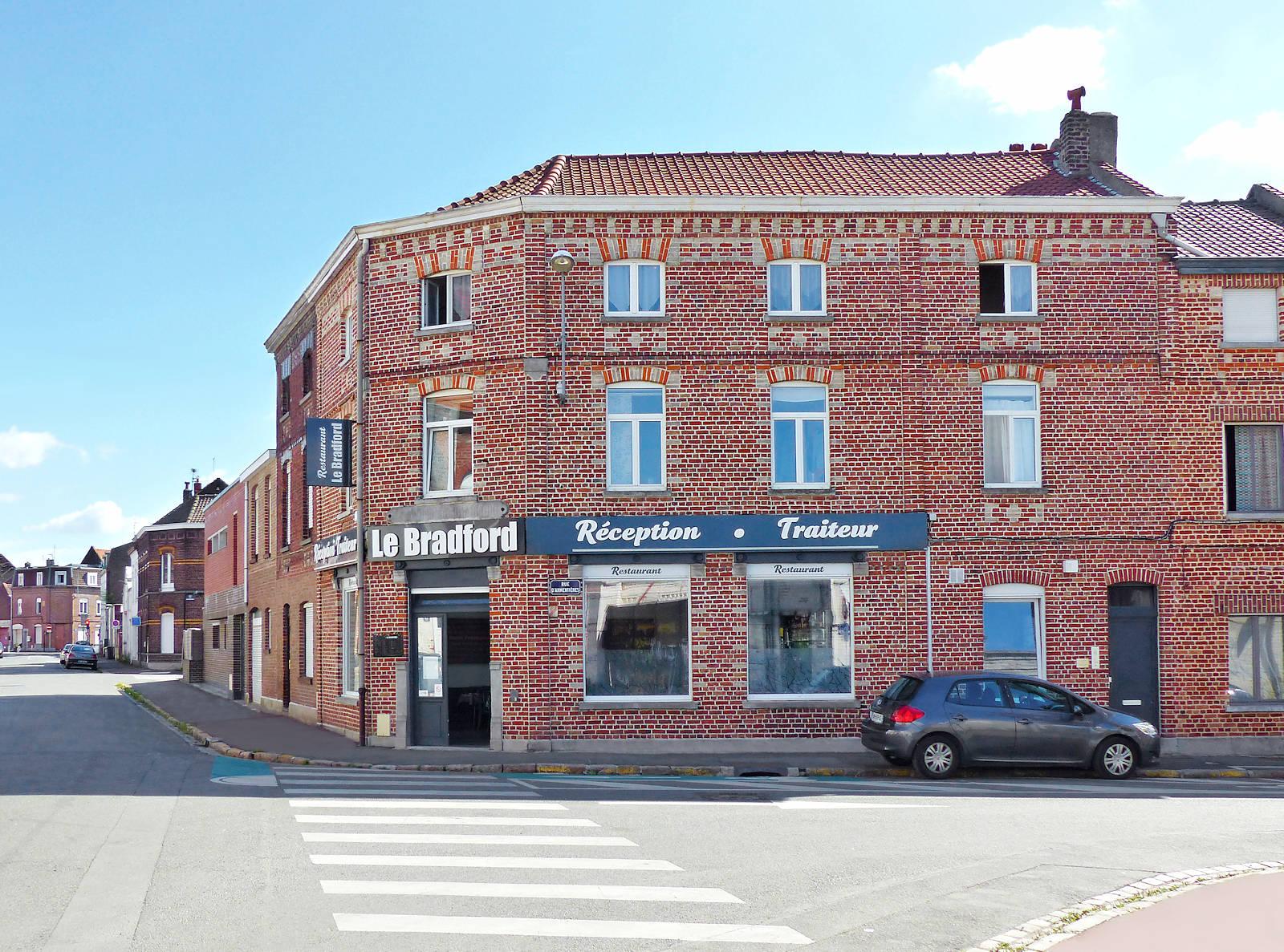 Rue de Bradford, Tourcoing quartier Flocon - Restaurant Le Bradford