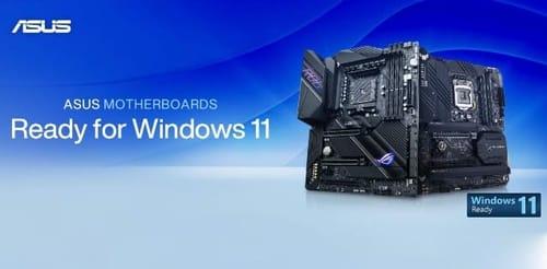 Asus prepares to launch Windows 11