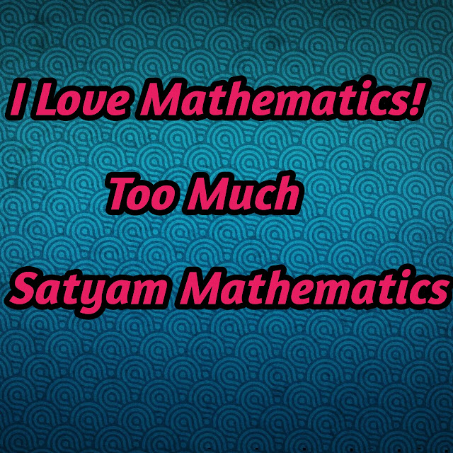 Satyam Mathematics