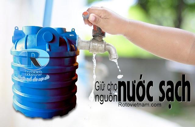 Cách lựa chọn bồn trữ nước mùa hạn mặn ở miền Tây