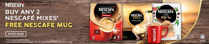 PG Mall Nescafe Promotion Free Gift
