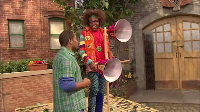 LMNOP Donald Glover, Chris, Sesame Street Episode 4317 Figure It Out Baby Figure It Out season 43