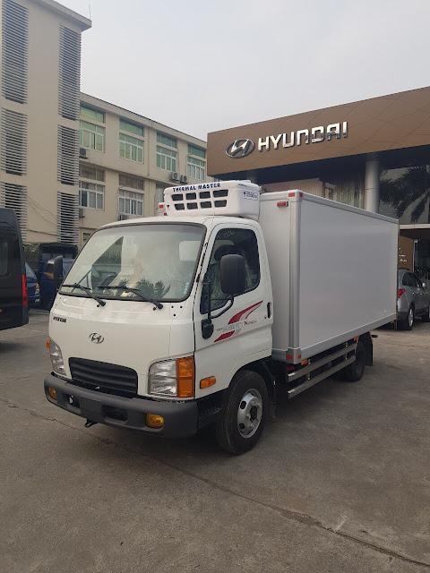 Hyundai N250sl thùng đông lạnh đời 2021