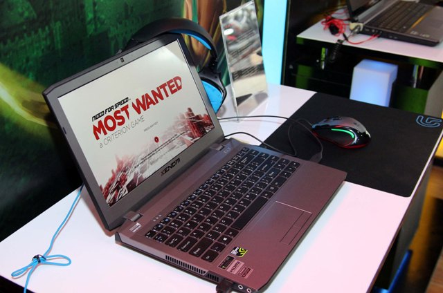 Xenom Siren SR14i, Notebook Gaming Intel Asal Dalam Negeri