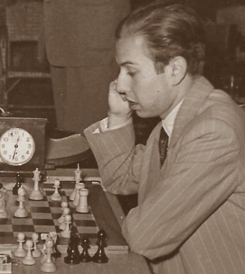 El ajedrecista Arturo Pomar Salamanca en 1960