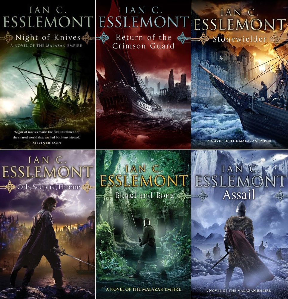 The Novels of the Malazan Empire by Ian C. Esslemont