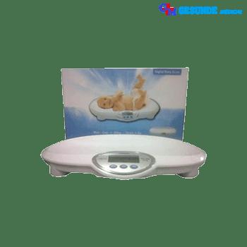 Timbangan Badan Bayi Digital Dilengkapi Tampilan Layar LCD Biru