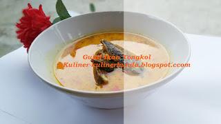 Ikan Tongkol yaitu salah jenis ikan yang berhabitat di air bahari Resep Gulai Ikan Tongkol