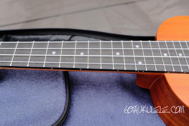 Horse HUK-23 Concert Ukulele neck