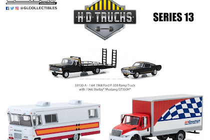 Greenlight HD Truck Series 13