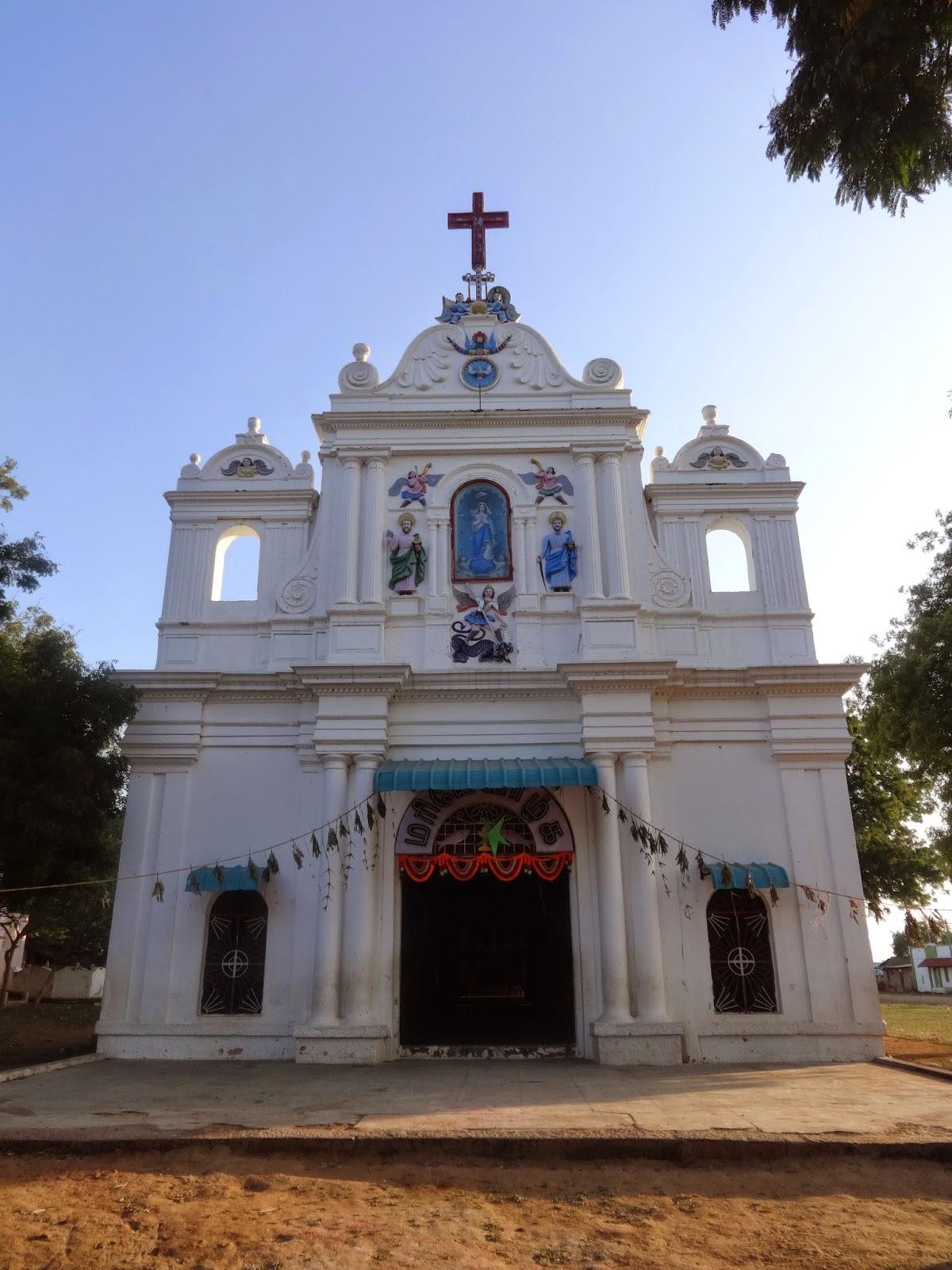 Tamilnadu Tourism Avur Church Pudukottai