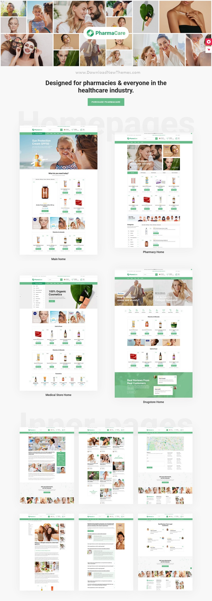 Pharmacy and Medical Store WordPress Theme